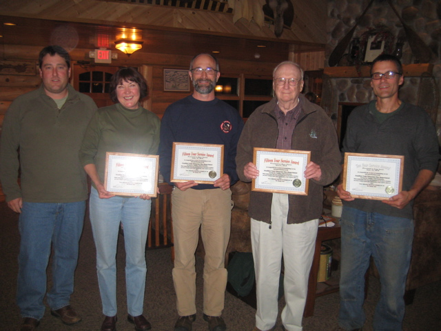 Longevity Service Awards at 2010 Annual Meeting