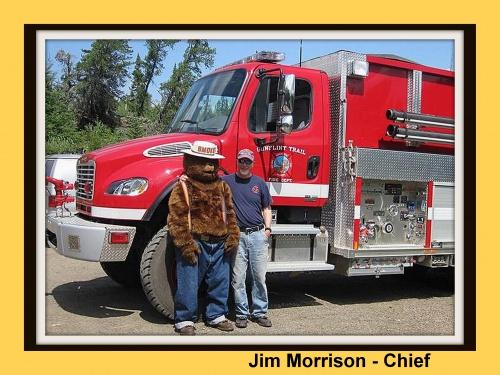 Jim Morrison, Chief with Smokey