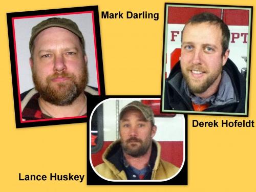 Mark Darling, Lance Huskey, and Derek Hofeldt