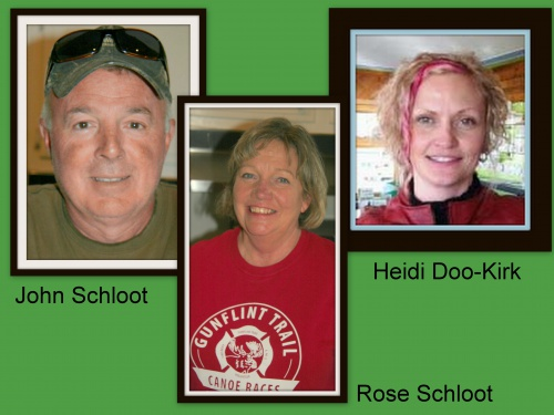 John Schloot, Rose Schloot and Heidi Doo-Kirk (Associates)