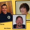 Greg Gecas, Laura Popkes, and Bob Baker