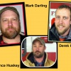 Mark Darling, Lance Huskey, and Derek Hofeldt